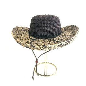 San Diego Hat Co Woven 100% Raffia Straw Hat OS